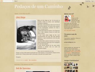 um-caminhar.blogspot.com screenshot