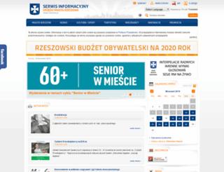um.rzeszow.pl screenshot