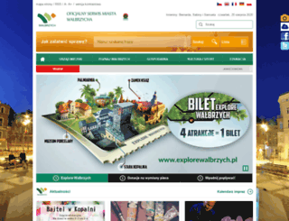 um.walbrzych.pl screenshot
