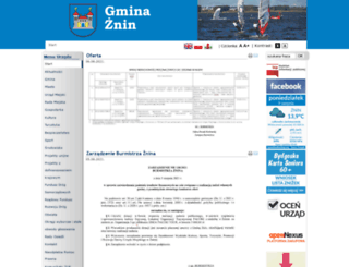 um.znin.pl screenshot