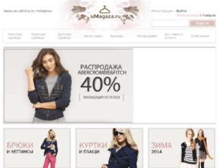 umagaza.ru screenshot