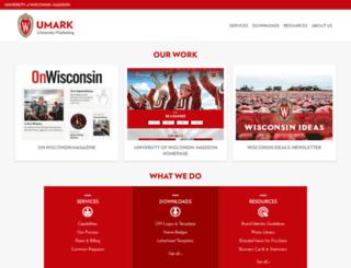 umark.wisc.edu screenshot