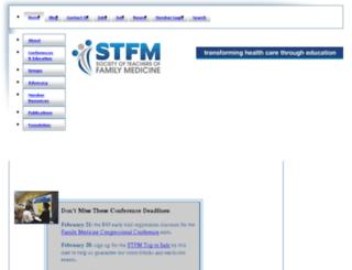 umass.stfm.org screenshot