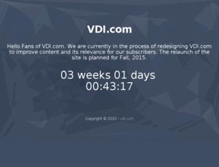 umassmemorial.vdi.com screenshot