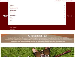 umassstore.com screenshot