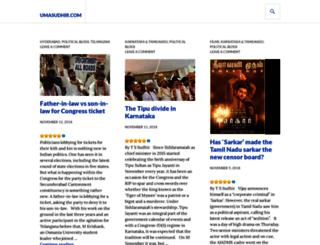umasudhir.wordpress.com screenshot