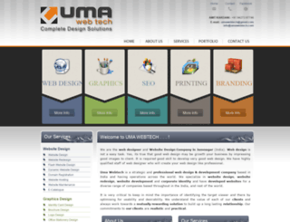 umawebtech.com screenshot