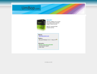 umbop.com screenshot