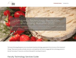 umbrella.uchicago.edu screenshot