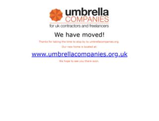 umbrellacompanies.org screenshot