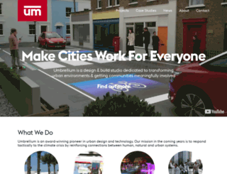 umbrellium.co.uk screenshot
