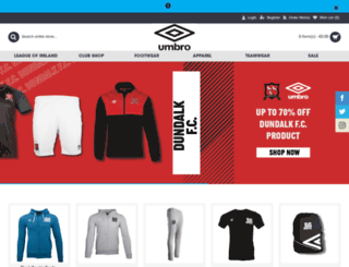 umbro.ie screenshot