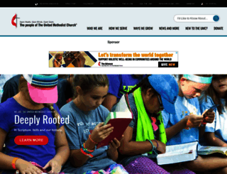 umc.org screenshot