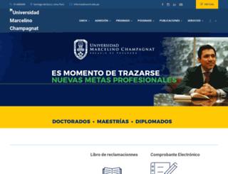 umch.edu.pe screenshot