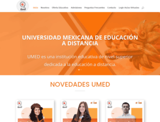umed.edu.mx screenshot
