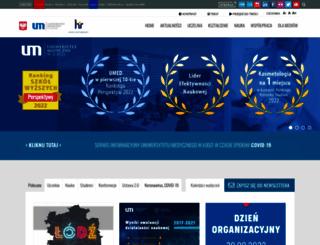 umed.lodz.pl screenshot