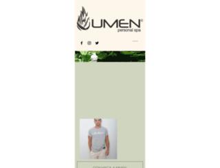 umenpersonalspa.com.br screenshot