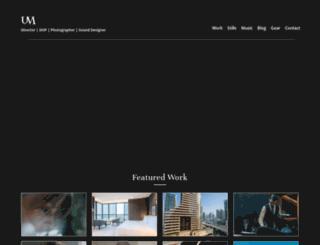 umeshmistry.com screenshot