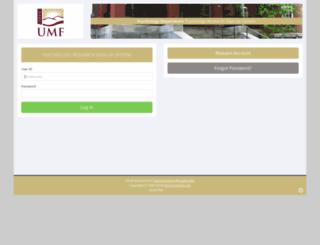 umf.sona-systems.com screenshot