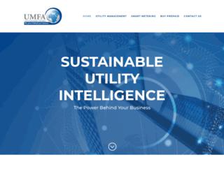 umfa.co.za screenshot