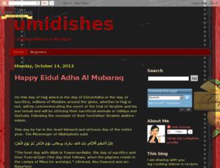 umidishes.blogspot.com screenshot