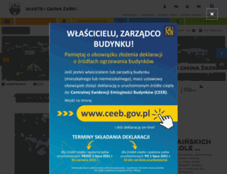 umigzarki.pl screenshot