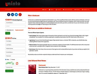 uminto.com screenshot