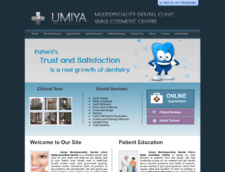 umiyadentalcare.com screenshot