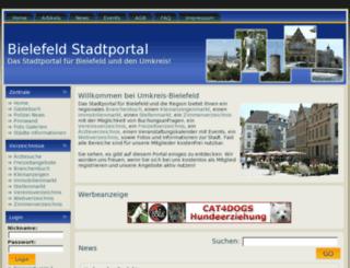 umkreis-bielefeld.de screenshot