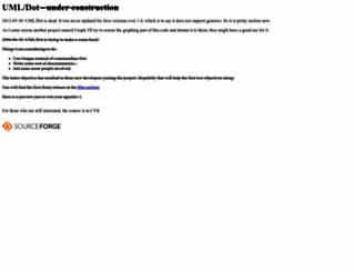 umldot.sourceforge.net screenshot