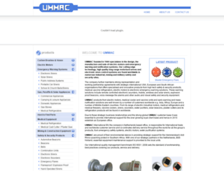 ummac.co.za screenshot