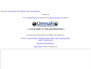 ummah.net screenshot
