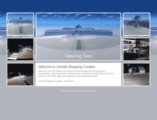 ummahshoppingcomplex.com screenshot
