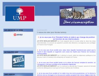 ump-sud-essonne.com screenshot