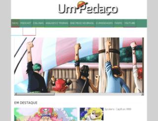umpedaco.com.br screenshot