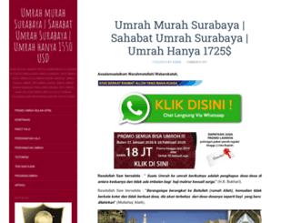 umrahmurahsurabaya.com screenshot
