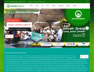 umrohmabrur.com screenshot