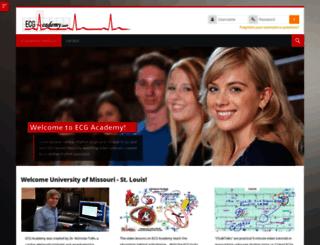 umsl.ecgacademy.com screenshot