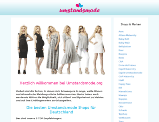 umstandsmode.org screenshot