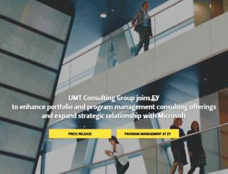 umt.com screenshot
