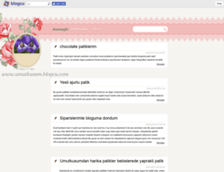 umutkusum.blogcu.com screenshot