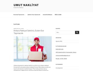 umutnakliyat.com screenshot