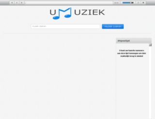 umuziek.nl screenshot