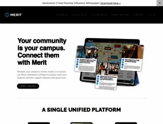 umw.meritpages.com screenshot