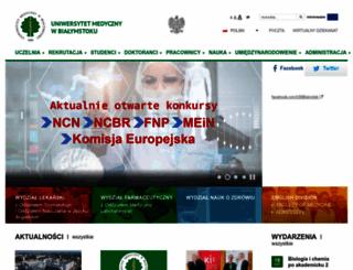 umwb.edu.pl screenshot
