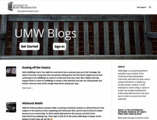 umwblogs.org screenshot
