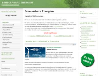 umweltfonds-aktuell.de screenshot