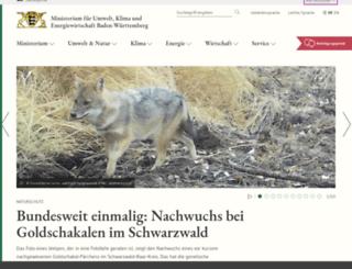 umwelttechnikpreis.de screenshot