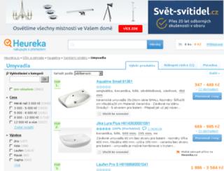 umyvadla.heureka.cz screenshot