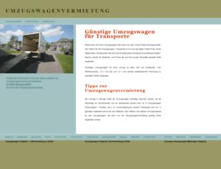 umzugswagenvermietung.de screenshot